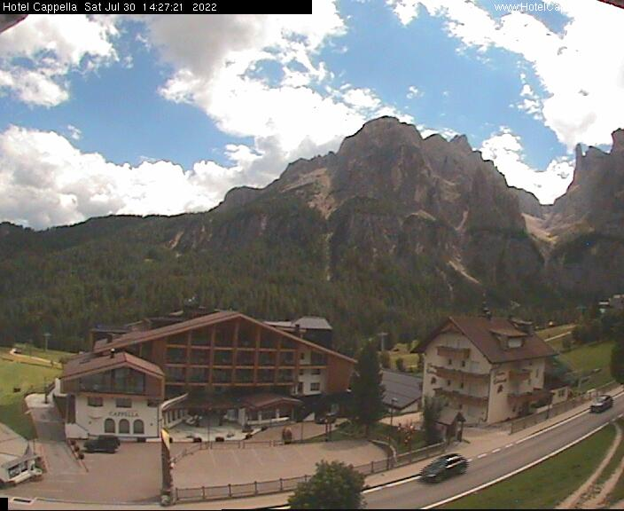 Webcam con vista in Val Mezdì a Colfosco